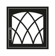 Дверца каминная ГрейВари Готика L, 526х508 мм
