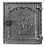 Дверца Везувий чугунная печная (ДТ-4) 320х290 мм антрацит