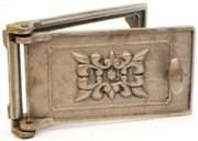 Дверца чугунная поддувальная ДП-2 большая, 270*160 мм, Балезино