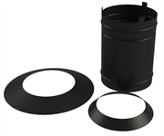 Разделка Grill'D потолочная  (0,5 мм) ф360 для Grill-center 800