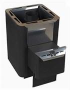 Печь для бани Конвектика Колибри Carbon 9М антрацит
