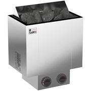 Печь для бани электрическая Sawo Nordex NRX-45NB-Z  встроенный пульт индикатор 4,5 кВт