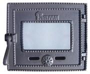 """Дверца чугунная топочная ДТГ-3БС """"Ками"""", 315*270 мм, Рубцовск"""