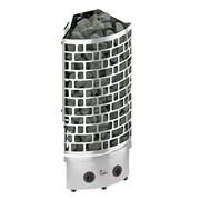 Печь для бани электрическая Sawo Aries ARI3-60NB-CNR-P пристенно-угловая встроенный пульт 6 кВт