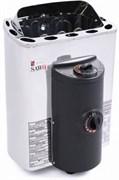 Печь для бани электрическая Sawo Mini X MX-36NB-Z встроенный пульт 3,6 кВт