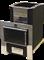 Печь для бани Конвектика Ниагара Inox 18 Плазма антрацит - фото 5243