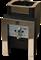 Печь для бани Конвектика Ниагара Inox 18У с ГГУ и порталом антрацит - фото 5261