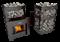 Печь для бани Grill'D Fortuna 200G window black - фото 5337